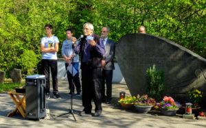 Vorstandsprecher Bernd Freckmann bei seiner Ansprache